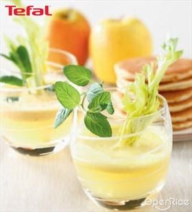 Morning Zest Recipe 薄荷西芹苹果汁食谱