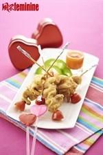 Grilled Mushroom with Bamboo Salt Recipe 烤竹盐杏鲍菇串食谱