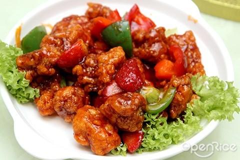 士多啤梨生炒骨, 香港, 马来西亚, 吉隆坡, 彭慶記, 米其林餐厅, taman desa, pang's kitchen