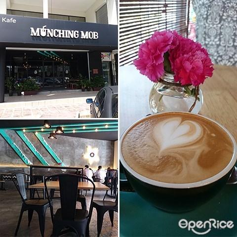 Munching Mob Café, Flat White, Nasi Lemak, Loco Local, Pancakes, Cafes at Bukit Jalil, Aked Esplanad Bukit Jalil, Bukit Jalil, KL