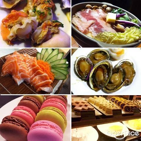 jogoya, japanese food, buffet, kl, bukit bintang, seafood, dimsum, western, dessert, haagen dazs