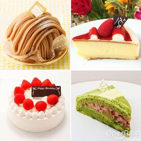 Châteraisé, Chateraise, Japan, dessert, cakes, 日本, 蛋糕, 甜点