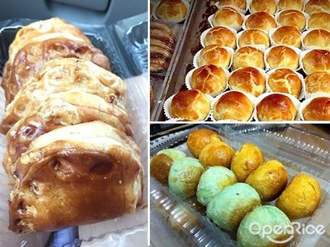 local holiday, ipoh, perak, souvenir, 手信, 新榮香, kaya puff, kaya角
