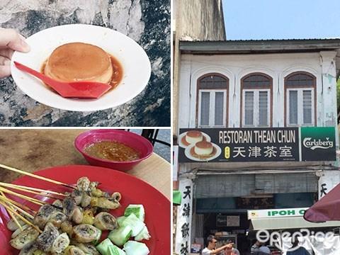 local holiday, ipoh, perak, souvenir, 手信, 燉蛋,天津茶室