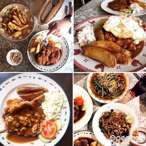 柔佛, 新山, jb, johor, 老字號, 老味道, 古早味, IT Roo Café, The Best Chicken Chop In Town, 海南雞扒