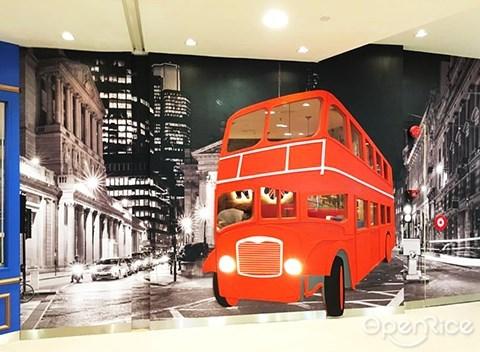 classic teddy bear, café, 泰迪熊主题咖啡馆,penang,槟城,1st avenue mall