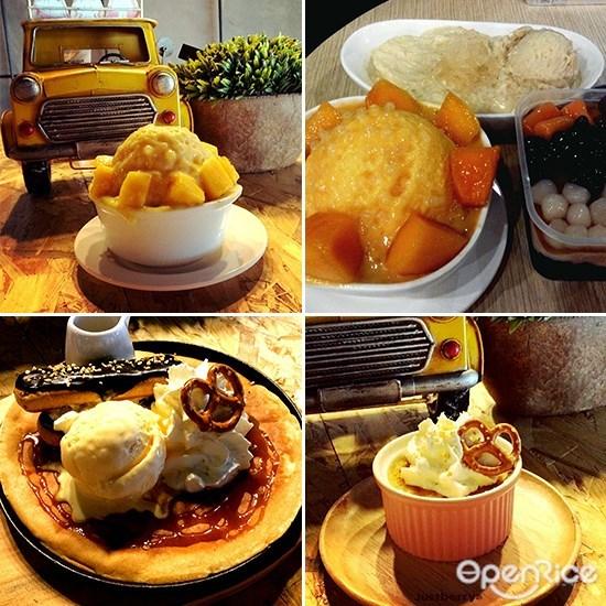 Justberry Dessert, Durian Dessert, Coffee, Dessert, Melaka