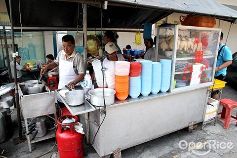 kwan kee, porridge, pudu, kl