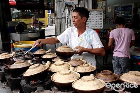 claypot chicken rice, pudu, kl