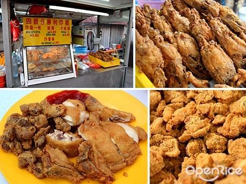 fried chicken, victory, pudu wai sek kai