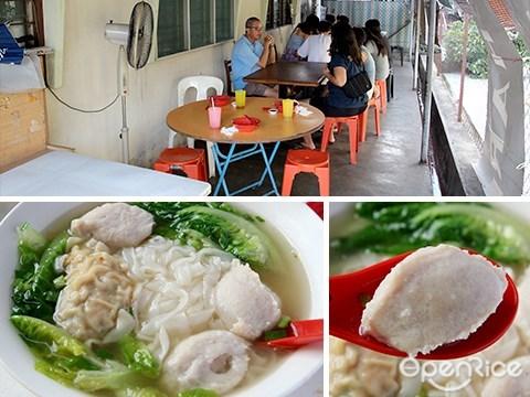 fish paste noodle, pj old town, yong tau foo