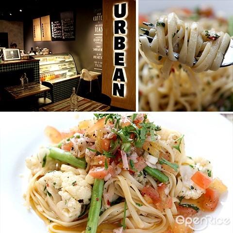 urbean, 咖啡厅, 沙拉, 意大利面, avenue k, kl