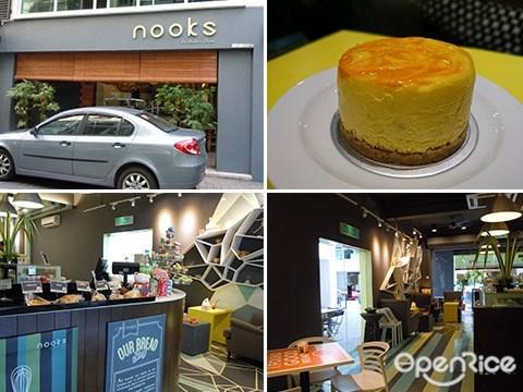 Baker Dave, Nooks, Plaza Damas 3, Cheesecake, Fondant Cakes
