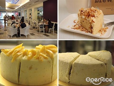 Publika, Mangoesteen cake, Cempedak Cake, PJ, KL