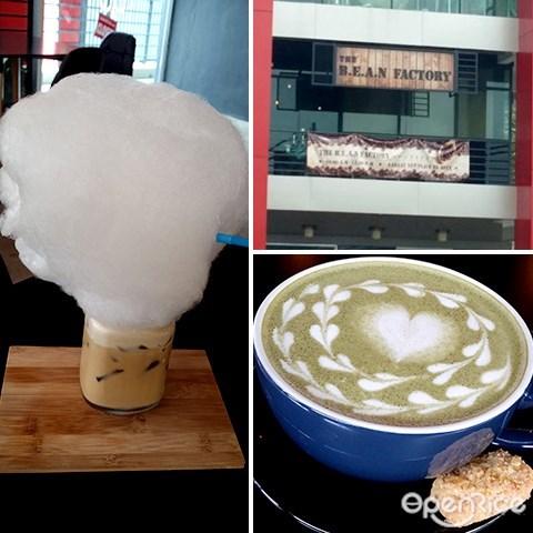 bean factory, 咖啡厅, penampang, kota kinabalu, sabah, lido plaza