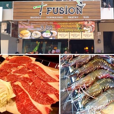 t fusion, steamboat, teppanyaki, penampang, kota kinabalu, sabah, lido plaza