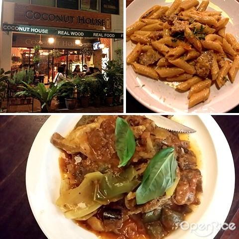 coconut house, italian food, jaya one, pj