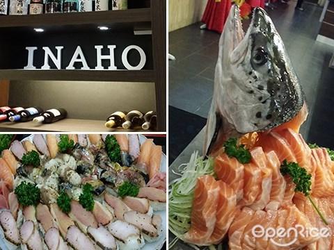 Inaho Japanese Restaurant, Kota Kinabalu, Sabah, Japanese, Sushi