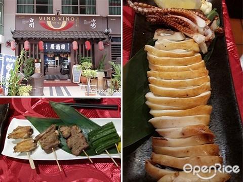 Vino Vino Yakitori, Kota Kinabalu, Sabah, Japanese, Sushi