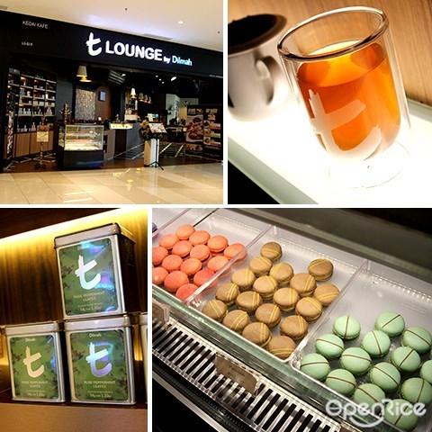 t lounge, tea, dilmah, ioi city mall, putrajaya