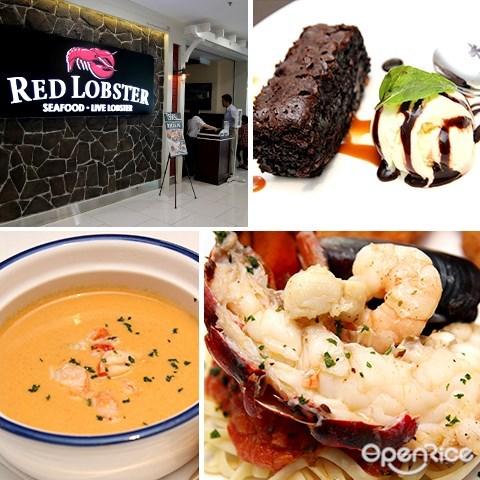 龙虾, red lobster, seafood, restaurant, quill city mall, jalan sultan ismail, medan tuanku