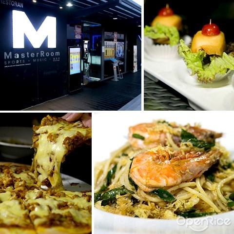 master room, one city, skypark, subang, restaurant