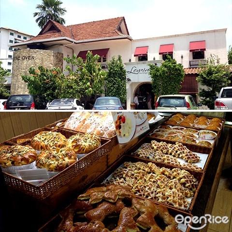 levain, boulangerie & patisserie, imbi, 法国, 面包, 烘焙