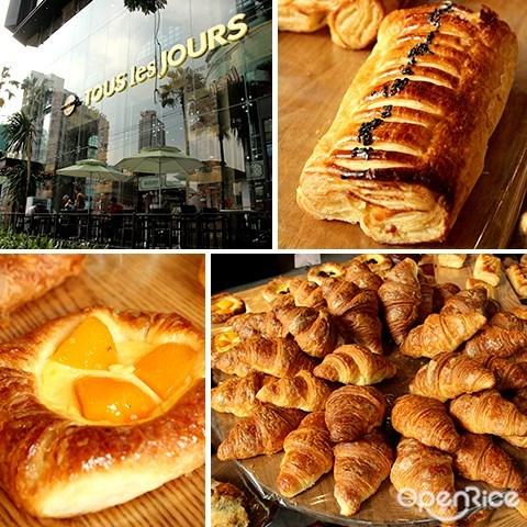 tous les jours, kl, pj, 韩国, 面包, 烘焙