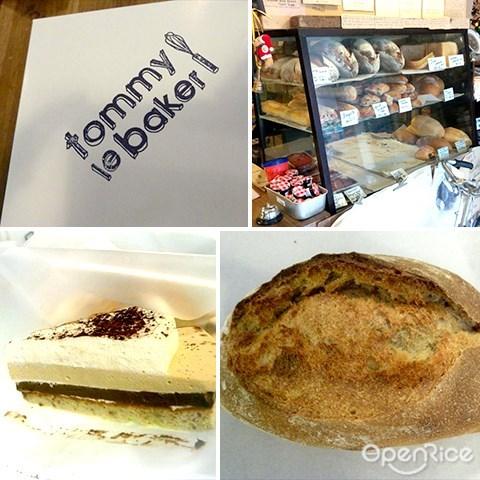 tommy le baker, viva residency, segambut, jalan ipoh, 面包, 烘焙店