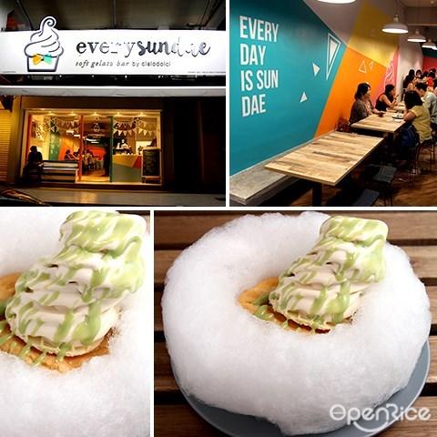 every sundae, uptown, damansara utama, pj, soft serve sundae