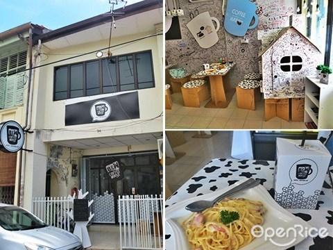b&w coffee house, eco friendly, cafe, penang