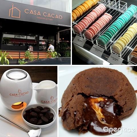 casa cacao, bangsar, chocolate, chocolate lave cake, signature cocao, 巧克力, 甜品店