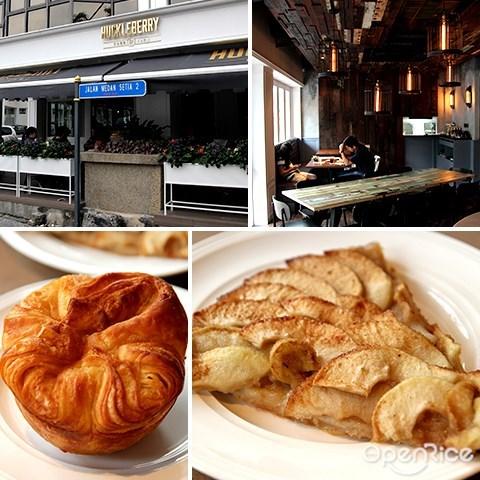 huckleberry food & fare, damansara heights, 面包