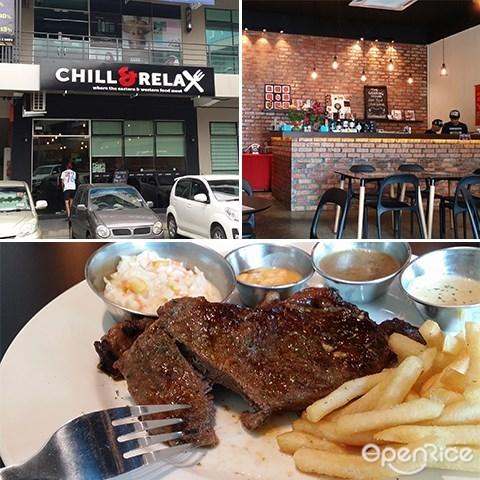 chill & relax, 咖啡厅, 西餐, lido plaza, 沙巴, penampang