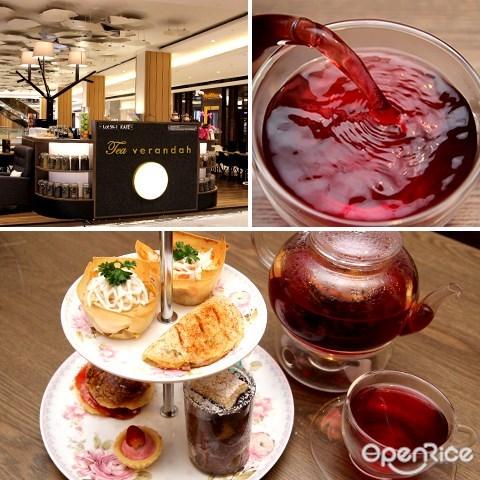 atria, damansara jaya, pj, restaurant, shopping mall, tea veranda, 花茶, 下午茶, tea set