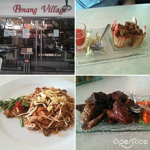 Penang Village, Penang food, Mee Yoke, Asam Laksa, TTDI