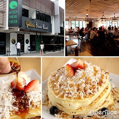 yellow brick road, wicked pancake parlour, 松饼, 咖啡厅, bukit damansara, damansara heights, kl