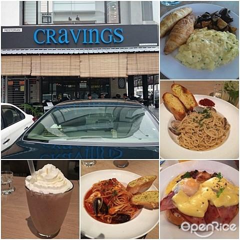 Cravings Restaurant, Malaysian Delights, Brunch, Gathering, Mahkota Cheras
