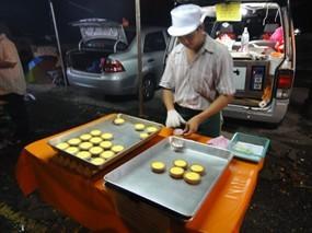 Egg Tart @ Pasar Malam Desa Petaling