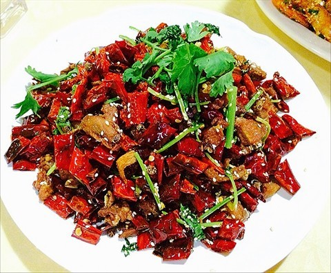 Xichuan dry chili chicken