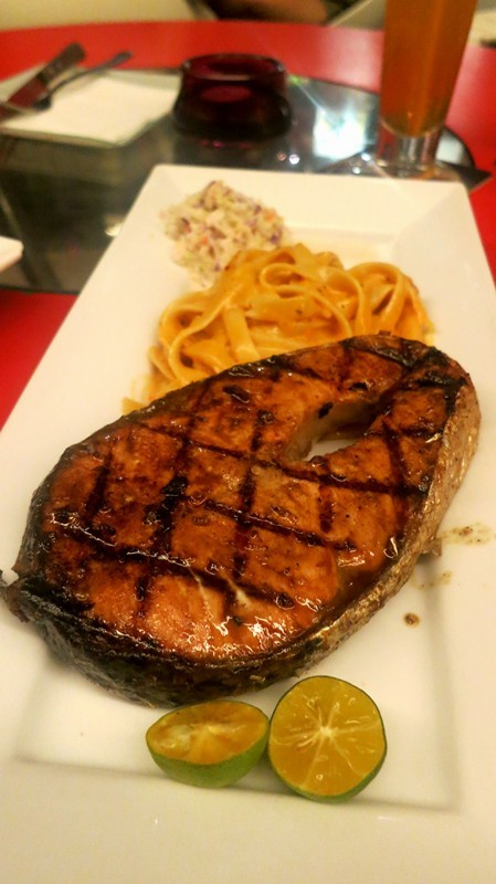 Grilled Salmon (RM 30)